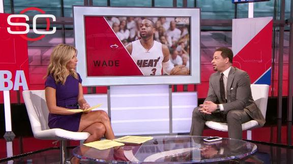Wade open to outside offers