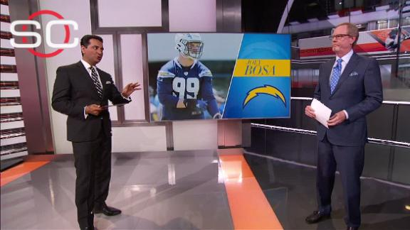Video - Bosa, Chargers still haven't reached a deal