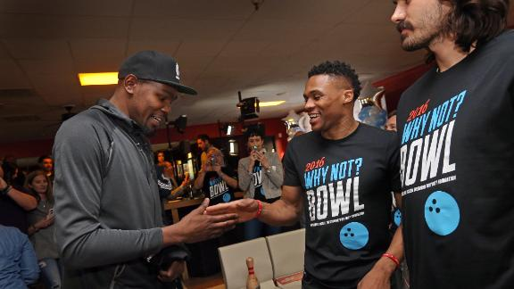 Athletes are handshake champions