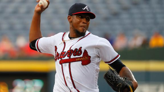 Julio Teheran a great start in fantasy Friday