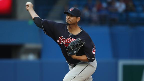 Indians beat Blue Jays for 13th win in a row