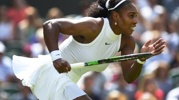Digital Serve: Concerned about Serena in second round?