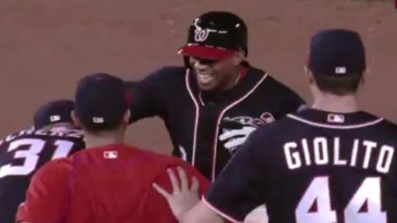 Revere the hero with walk-off hit for Nationals