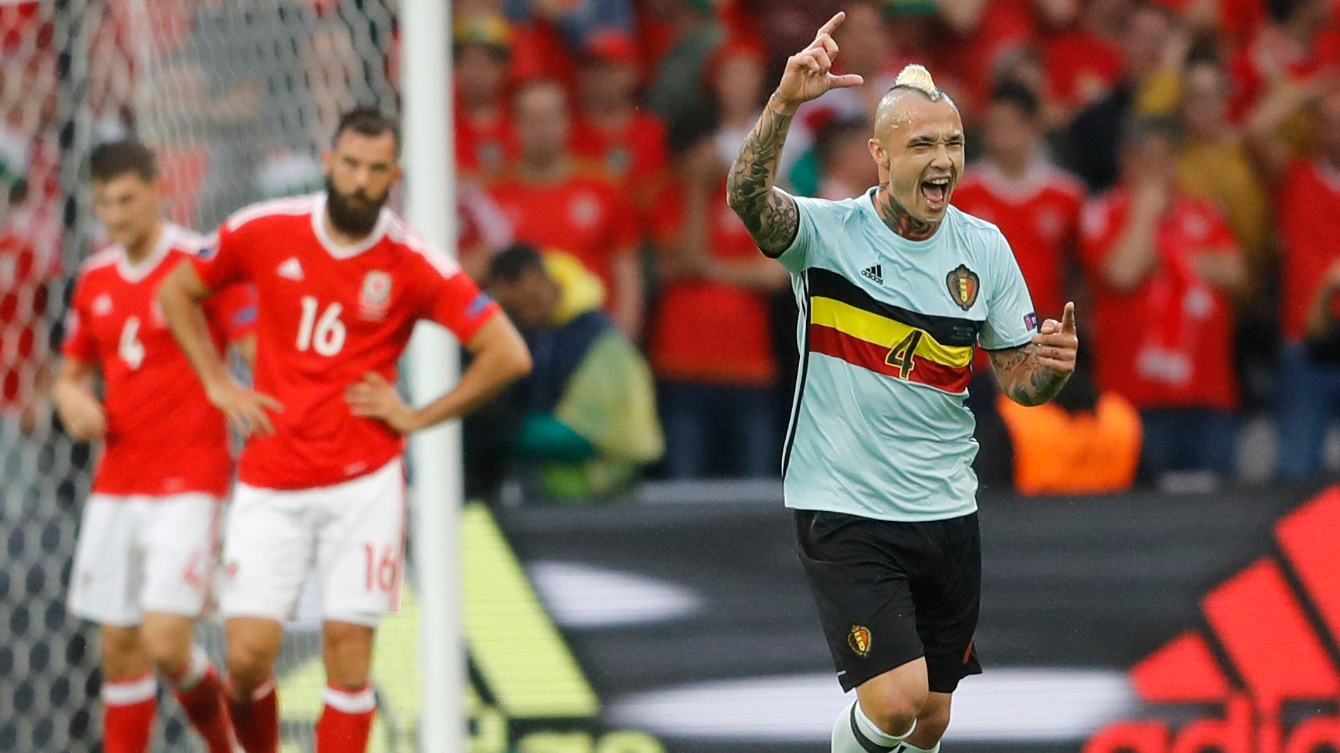 Nainggolan's laser puts Belgium on the board
