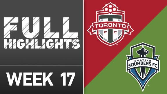 Video via MLS: Toronto FC vs. Seattle Sounders FC