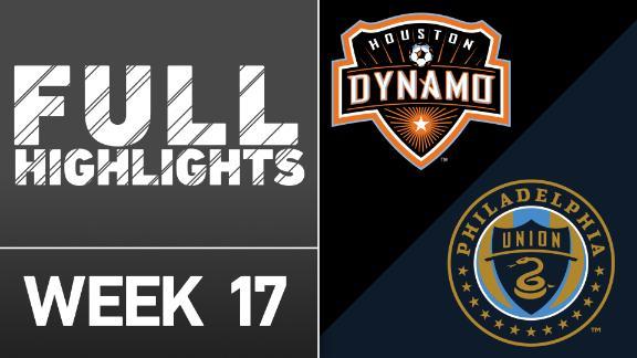 Video via MLS: Houston Dynamo 1-0 Philadelphia Union