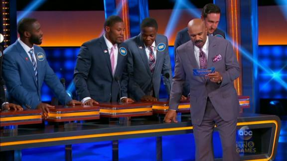 Video - NFL players take their talents to Family Feud