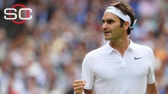 Federer reaches Wimbledon quarterfinal