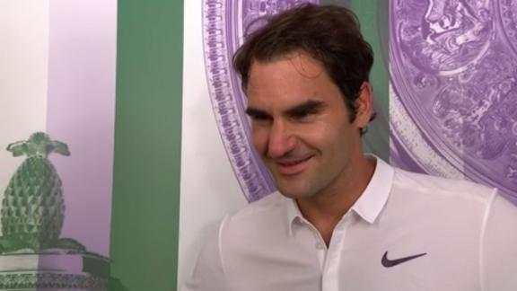 Federer: Johnson is much more confident