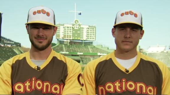 Bryant, Rizzo excited to have Cubs infield start ASG