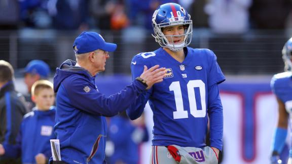 Video - Eli shares lessons learned from Coughlin