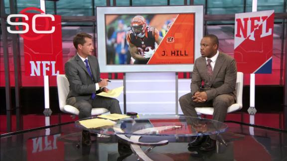 Video - Jeremy Hill won't let fumble define him