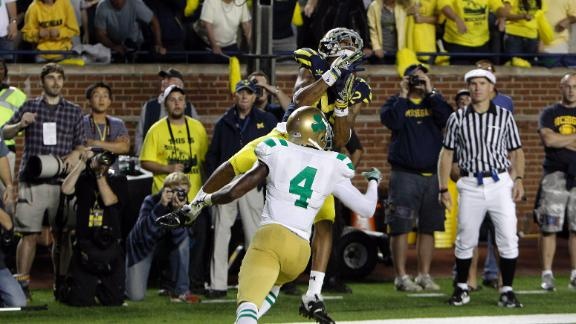 Greatest moments in Michigan-Notre Dame rivalry