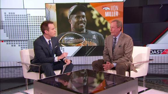 Progress encouraging for Von Miller, Broncos