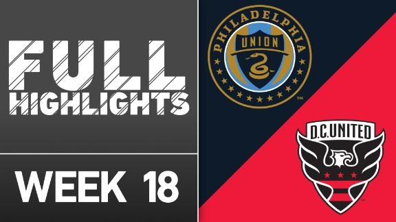 Video via MLS: Philadelphia 3-0 DC United