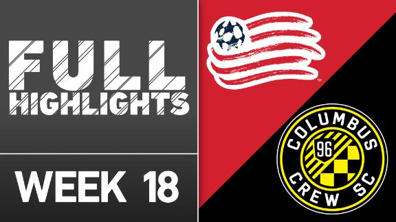 Video via MLS: NE Revolution 3-1 Columbus