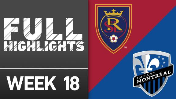 Video via MLS: Real Salt Lake 1-1 Montreal Impact