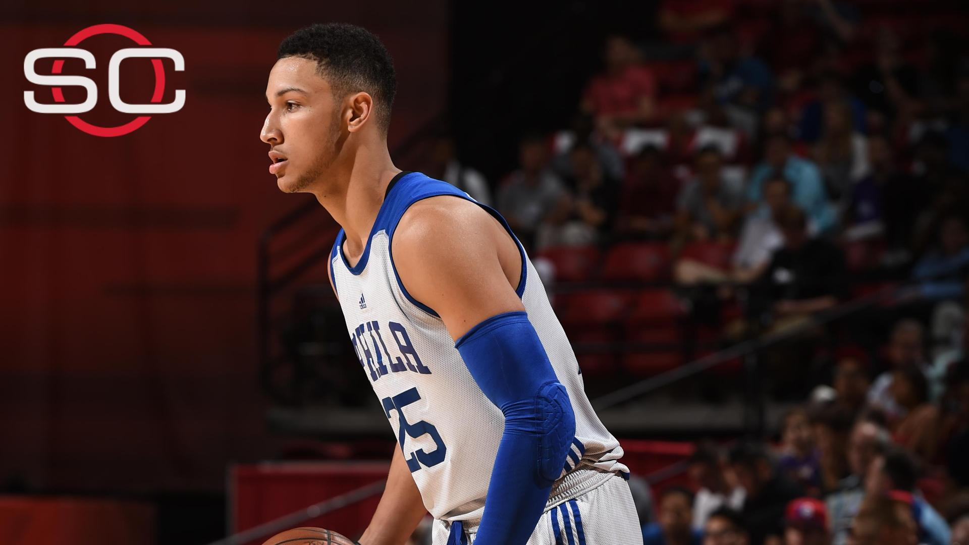 Simmons scores 18 in loss to Bulls