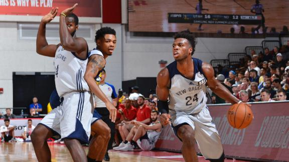 Hield drops 21 points in loss to Jazz