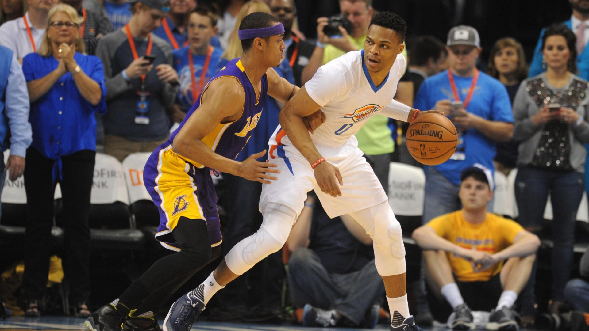 Should Lakers trade for Westbrook now?