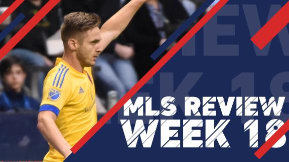 Video via MLS: The best of Week 18