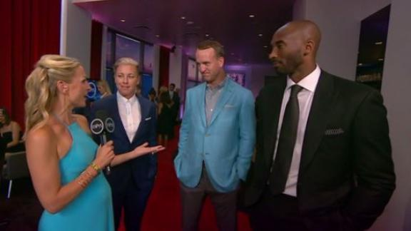 Video - Peyton, Kobe, Abby living the retired life