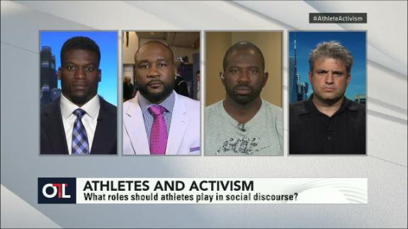 Video - OTL: What roles should athletes play in social discourse?
