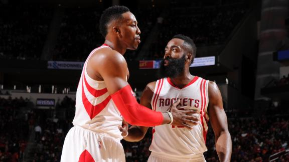 Howard admits rocky relationship with Harden