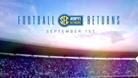 SEC football returns September 1