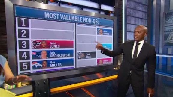 Video - OBJ tops Riddick's list of top non-QB MVPs