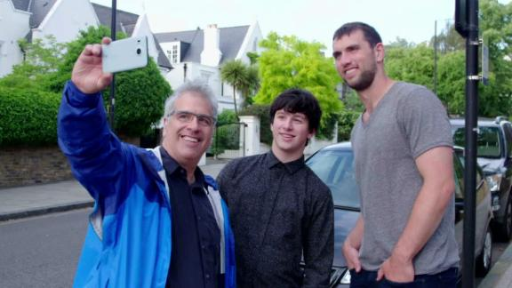 Video - Andrew Luck revisits his roots in London