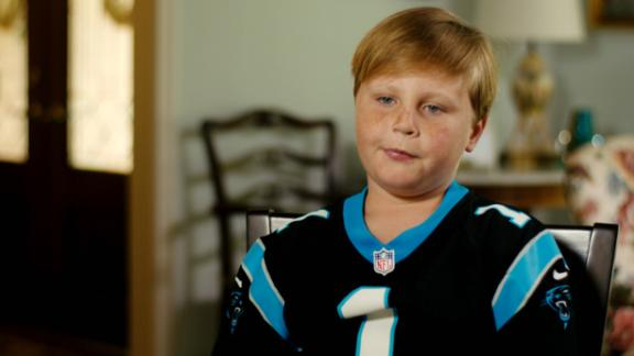 Video - My Wish: George loved meeting Cam Newton