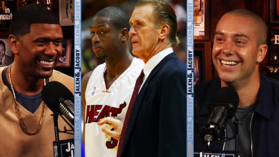 Jalen and Jacoby: The Dwayne Wade/Pat Riley rift