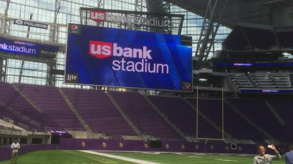 Video - Go for an all access tour of the Vikings' new stadium