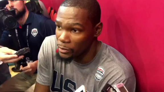Durant addresses reason for leaving OKC