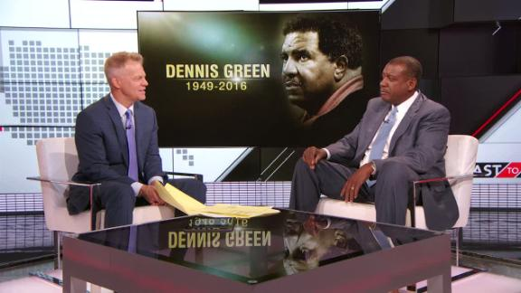 Video - Jarrett Bell's personal connection to Dennis Green