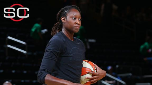 Tina Charles: We're going to keep using our platform