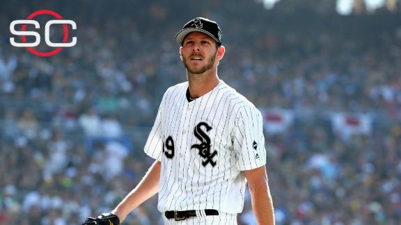 Chris Sale reportedly sent home after argument over uniforms