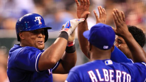Beltre blows game wide open with homer