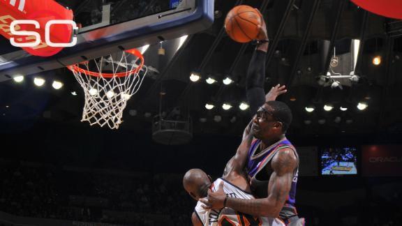 Amar'e Stoudemire sure did like to dunk