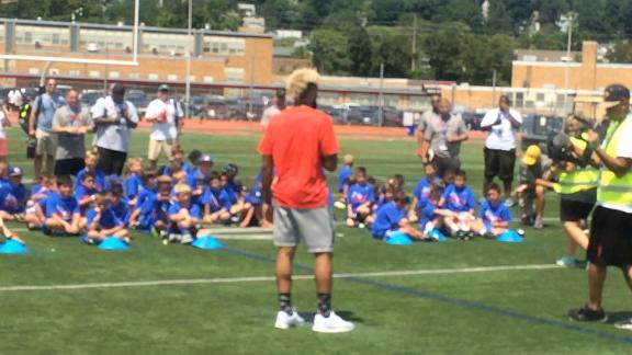 Odell Beckham Jr. sends strong message to kids