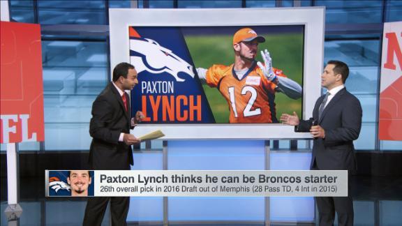 Video - Can Paxton Lynch claim Broncos' starting QB spot?