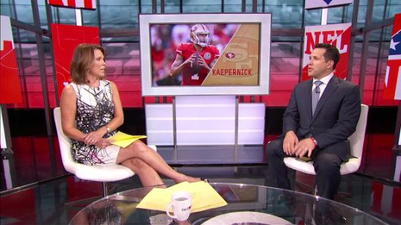Will Kaepernick unseat Gabbert as 49ers' starter?
