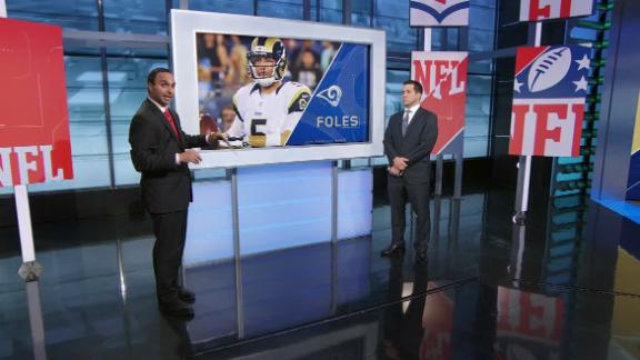 Video - Schefter: Rams knew they wouldn't keep Foles
