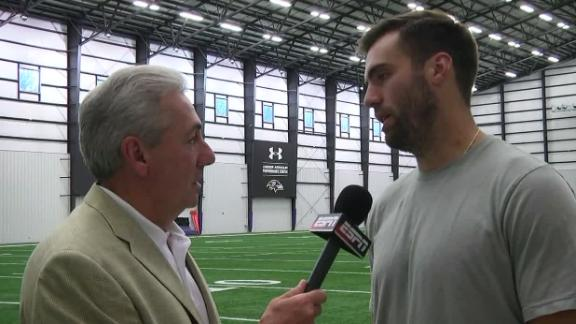 Video - Flacco: I don't need to rush anything