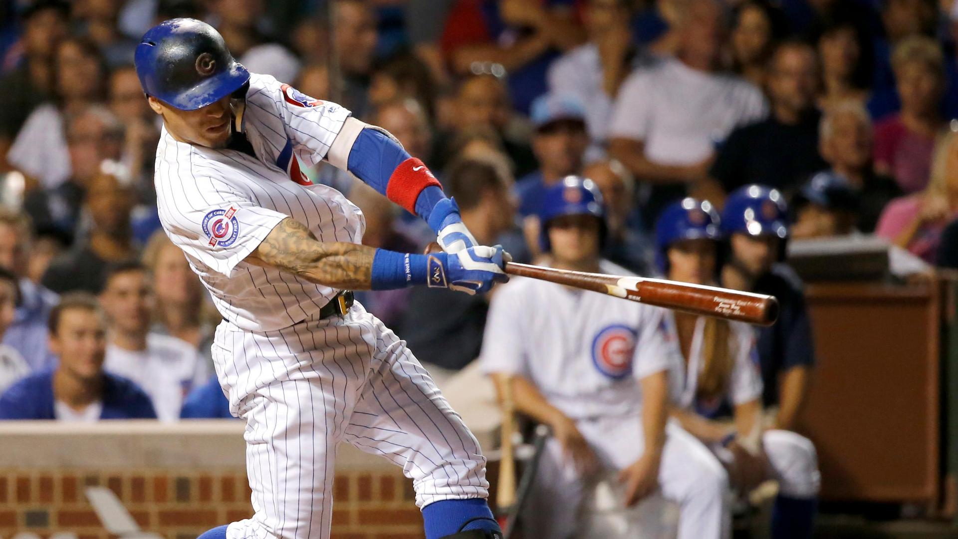 Baez's two-run blast puts the Cubs on top
