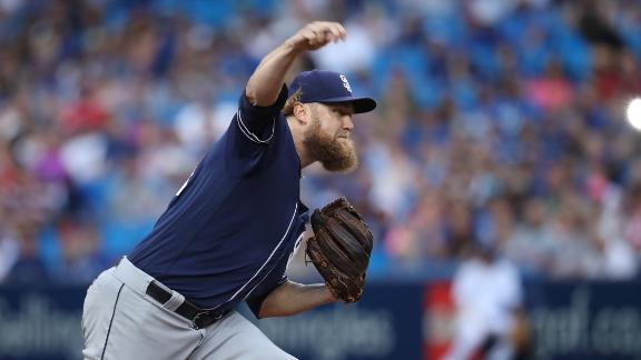 Marlins get Andrew Cashner, Colin Rea from Padres for prospects