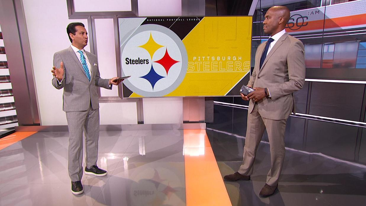 Video - Riddick wants to see improvement from Steelers' D