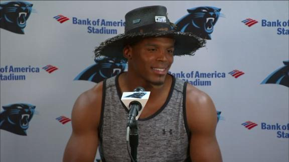 Video - Newton: 'I gain nothing' from dwelling on Super Bowl defeat