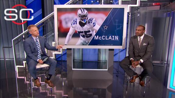 Video - Cowboys can't rely on McClain